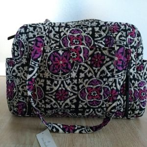 Vera Bradley  Diaper Bag w/ Roll Out Changing Pad
